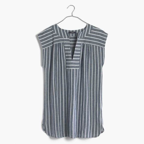 cefb238b17 Madewell Other - Madewell belize cover-up tunic dress in stripe